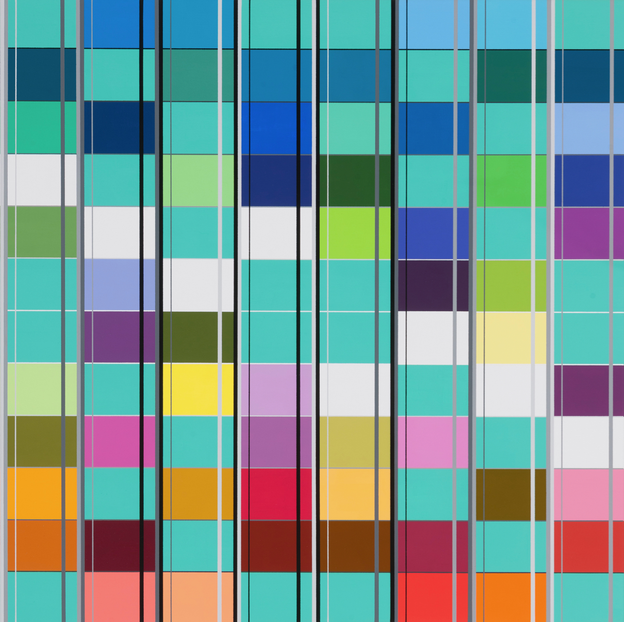 Untitled, 406, 60 x 60 cm, 2014