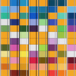 Untitled, 409, 60 x 60 cm, 2015
