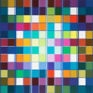 Untitled, 459, 120 x 120 cm, 2018