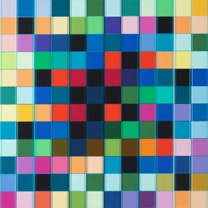 Untitled, 466, 84 x 84 cm, 2019